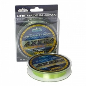 Леска Fishing ROI Axiom Spinning Line 0.18mm 150m 3.4kg (fluo)