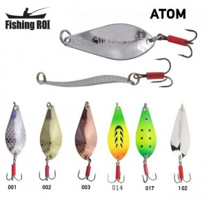 Блесна Fishing ROI Atom 14gr  (5 шт/уп)