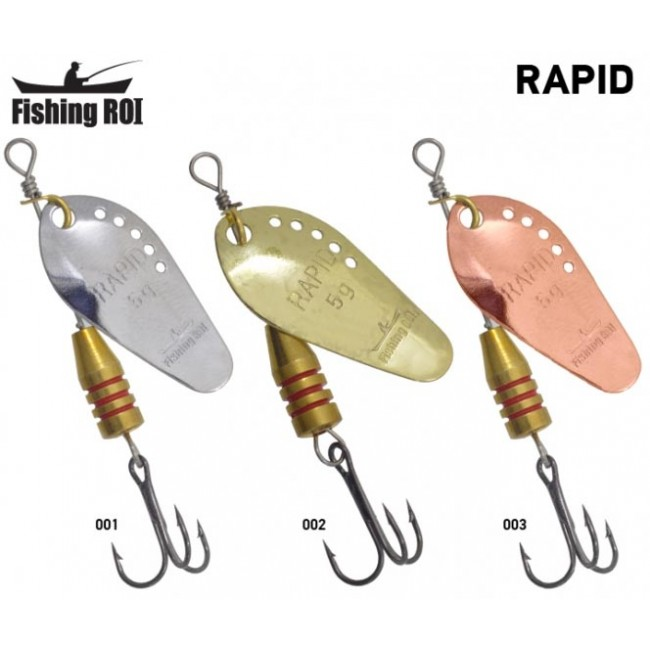 Блесна Fishing ROI Rapid 11gr  (5 шт/уп)