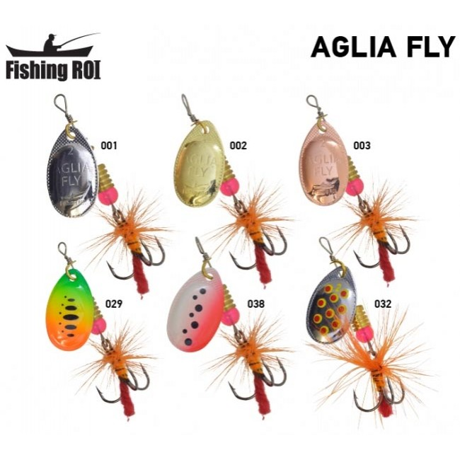 Блесна Fishing Roi Aglia Fly 4 гр (5 шт/уп)