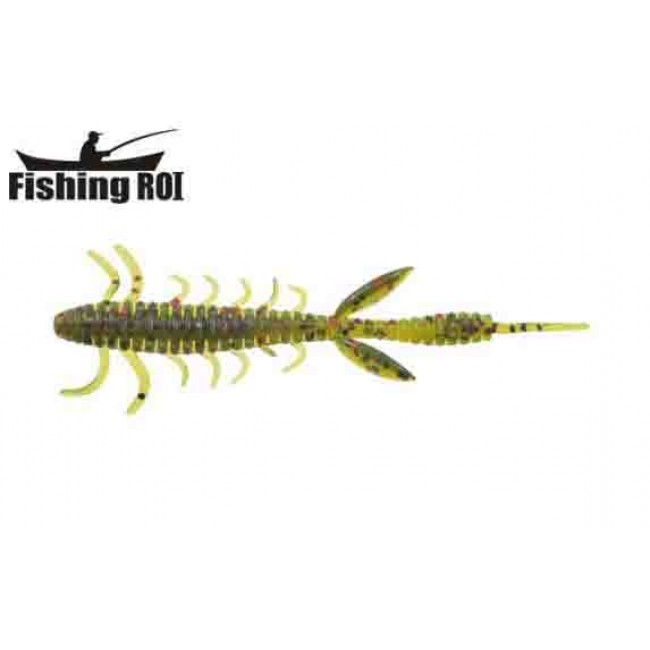 Силикон Fishing ROI Shaggi Grub 100mm D050 (10шт)