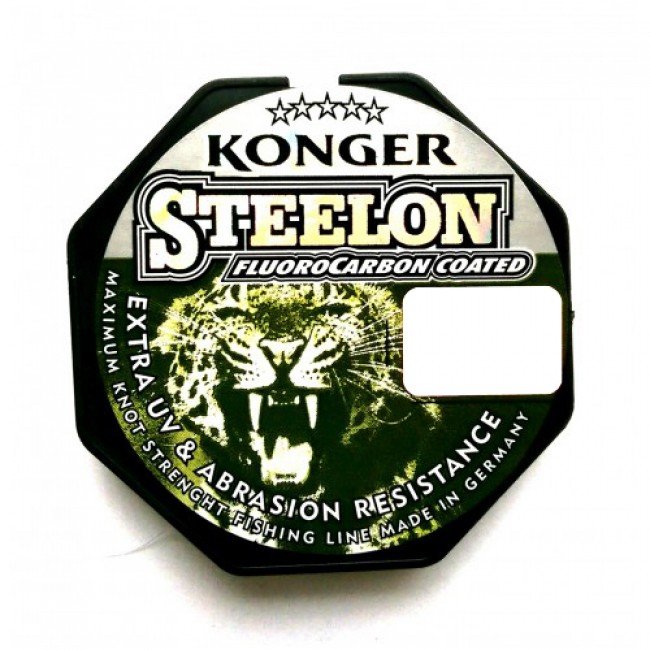 Леска Konger Steelon Fluorocarbon Coated ICE 50м 0.22 mm, 6.6 kg