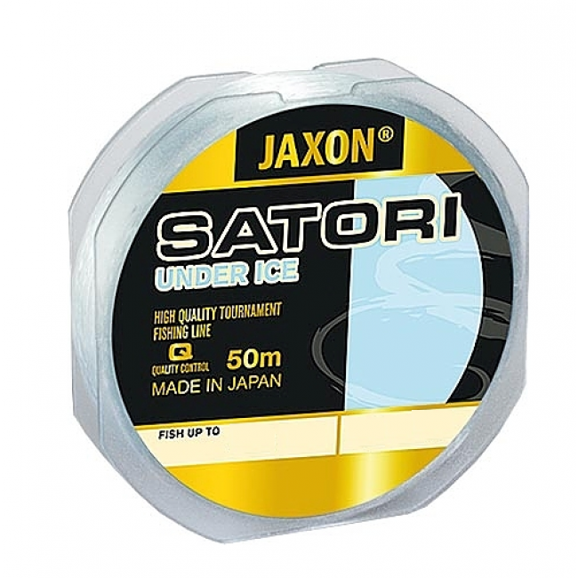 Леска зимняя Jaxon SATORI under ice 50 м, 0,16 мм, 6 кг